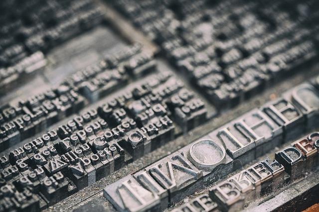 Was ist moderner Buchdruck?